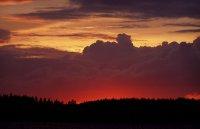 západ slunce v NP Kolovesi